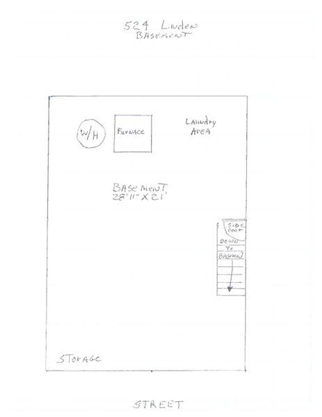 524 Linden - Basement