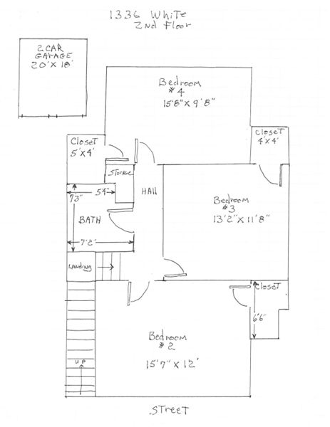 1336 White - 2nd Floor
