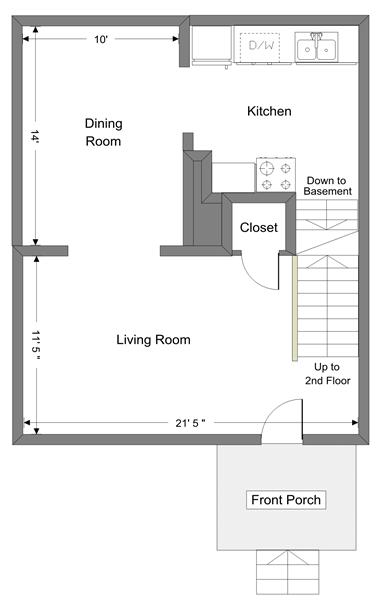 708 Dewey - 1st Floor
