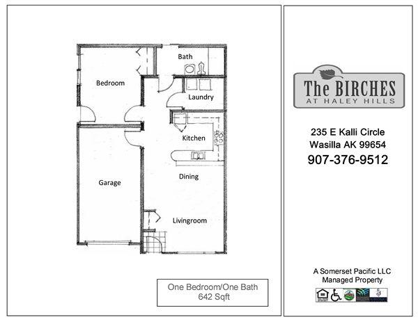 BIR-One Bedroom FP 4