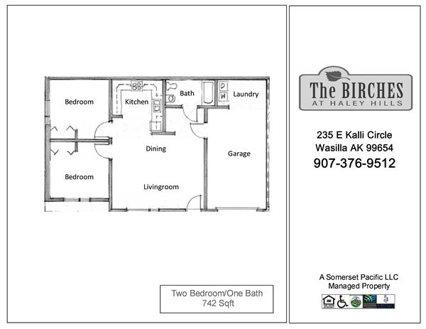 BIR-Two Bedroom FP 1