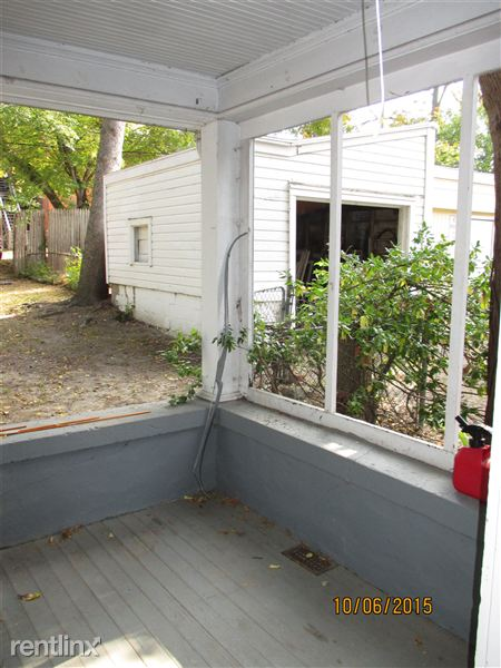 Front Porch in Back