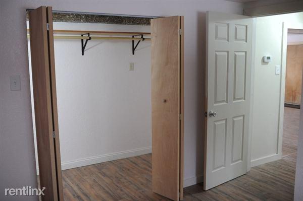Master Bedroom has huge closet!
