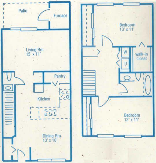 2-br Floorplan
