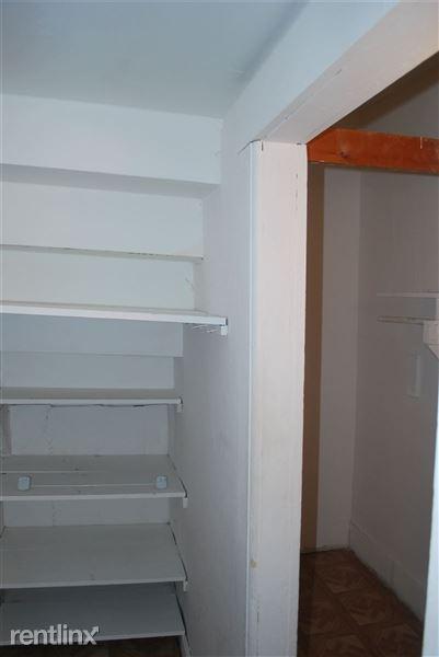 Large spacious closets