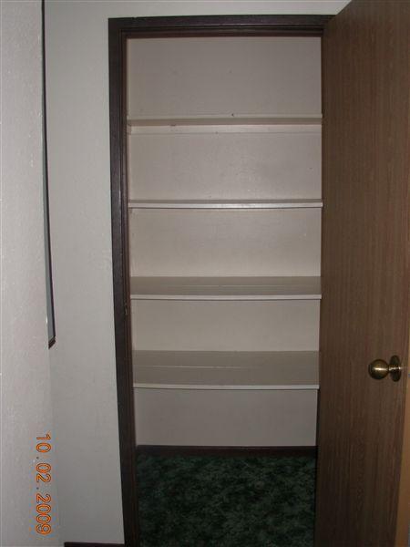 Upstairs Closet 2-3BD