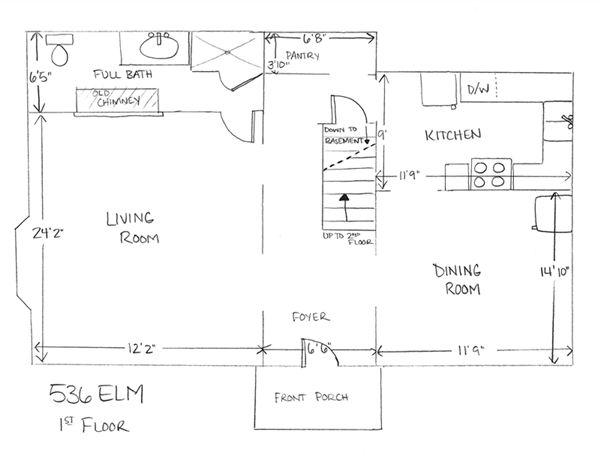 536 Elm - 1st Floor