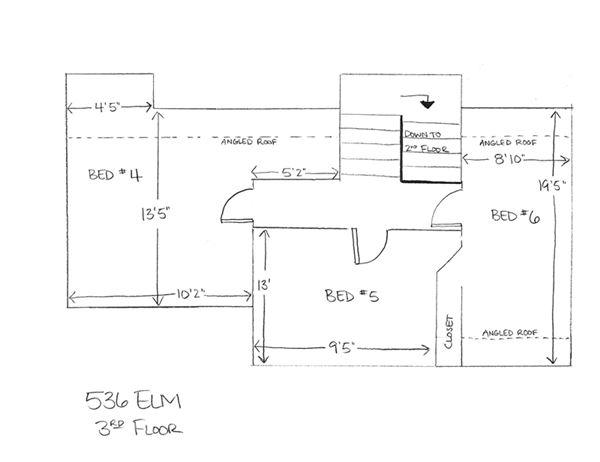 536 Elm - 3rd Floor