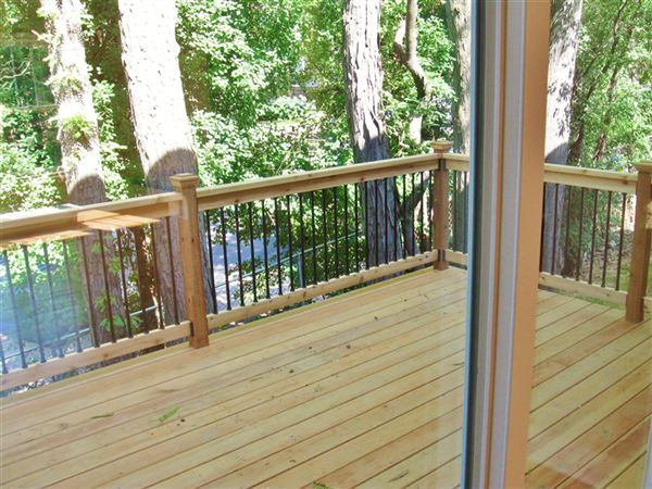 Private Deck off Living room