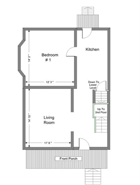 936 Dewey - 1st Floor