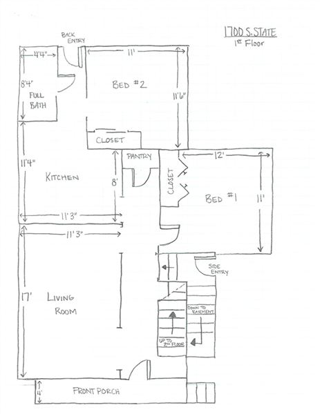 1700 S. State - 1st Floor