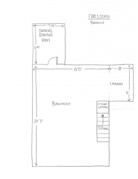 1700 S. State - Basement