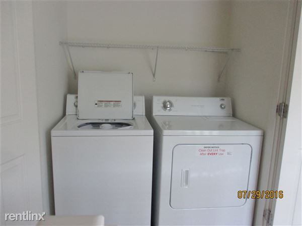Laundry Closet on 2nd Floor