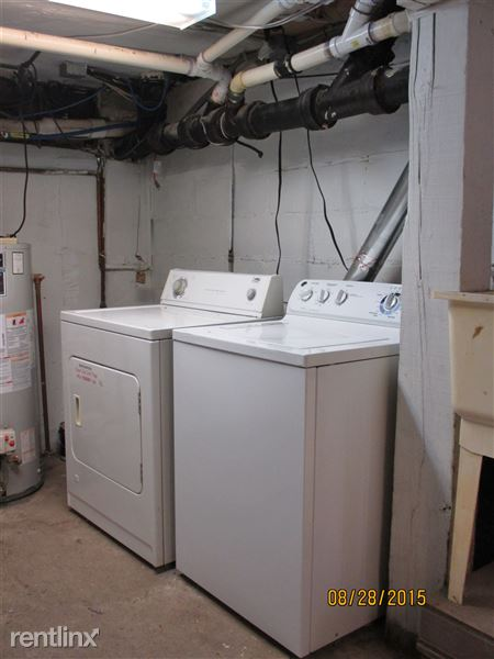 Laundry in Basement