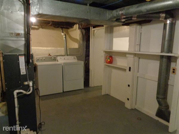 Unfinished Basement with Laundry