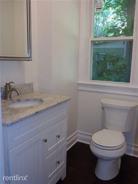 1/2 Bath - First Floor