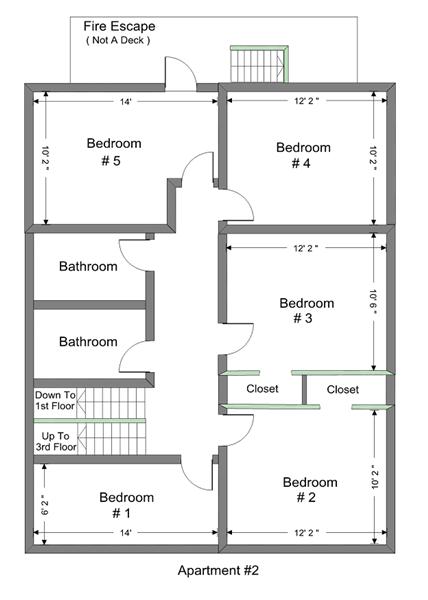 1025 Vaughn 2nd Floor