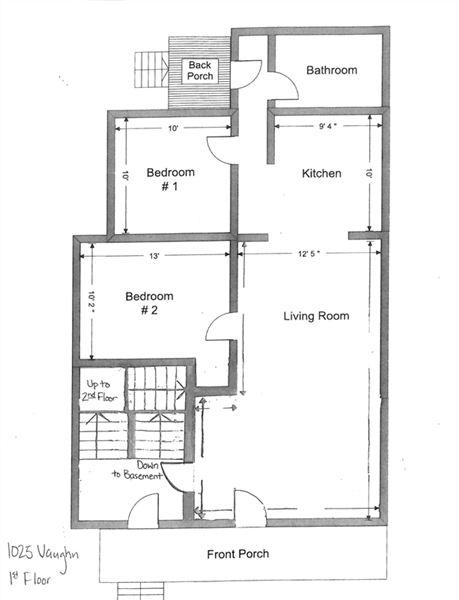 1025 Vaughn 1st Floor