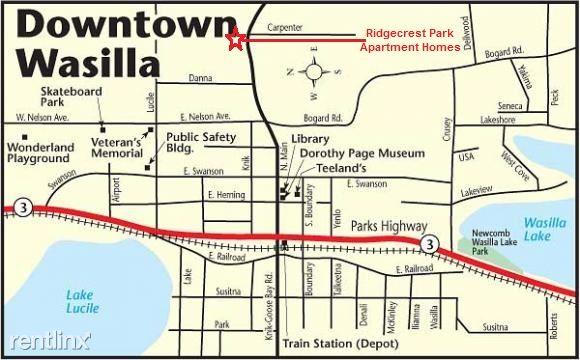 Map Of Ridgecrest