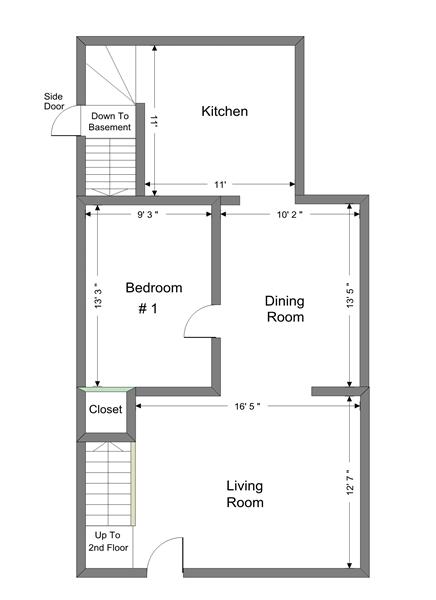 802 Arch 1st Floor