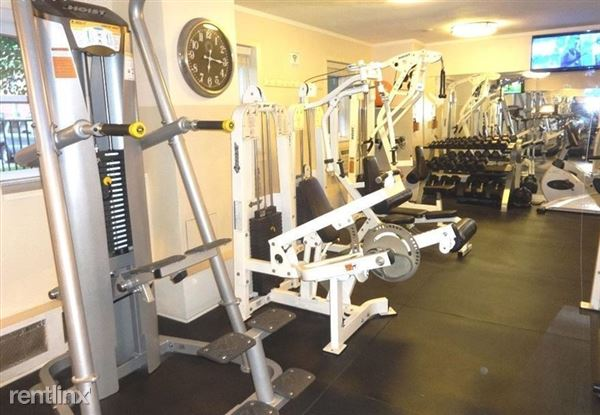 24-hour gym access available with nominal fee.