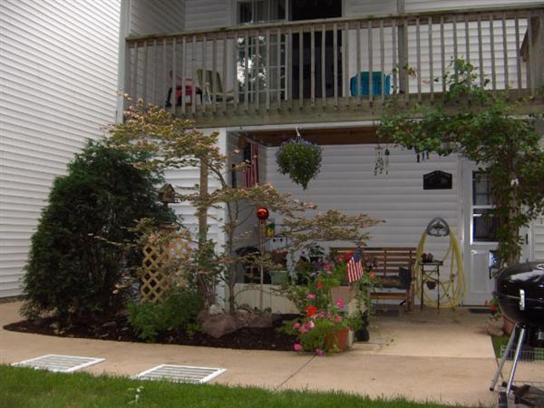 View of Rear Balcony and rear exterior