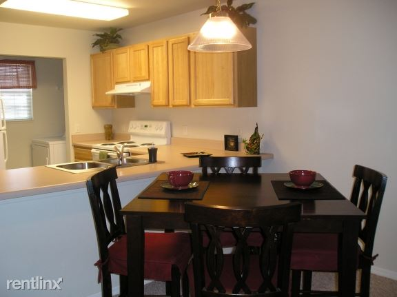 Bright, Open Dining! Washer & Dryer!
