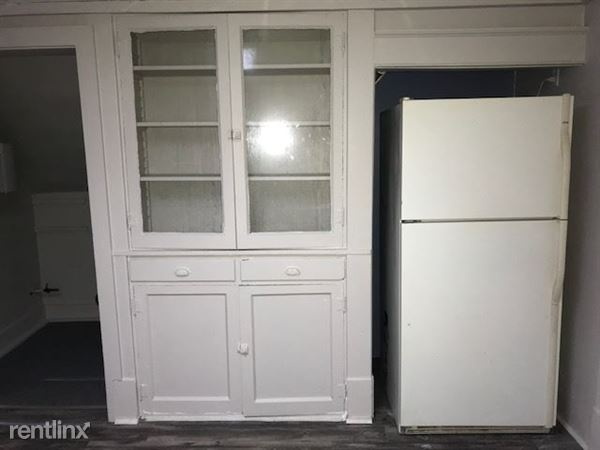 Kitchen - Built-In Cabinet and Refrigerator