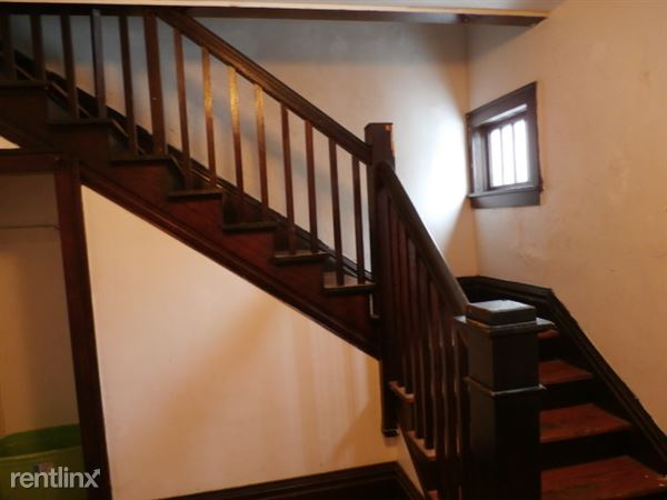 Stairs to Upper Apartment from Entry Door