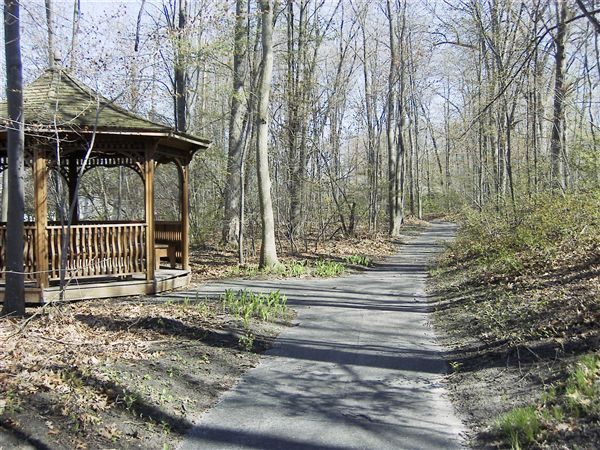 Nature trail and walking paths