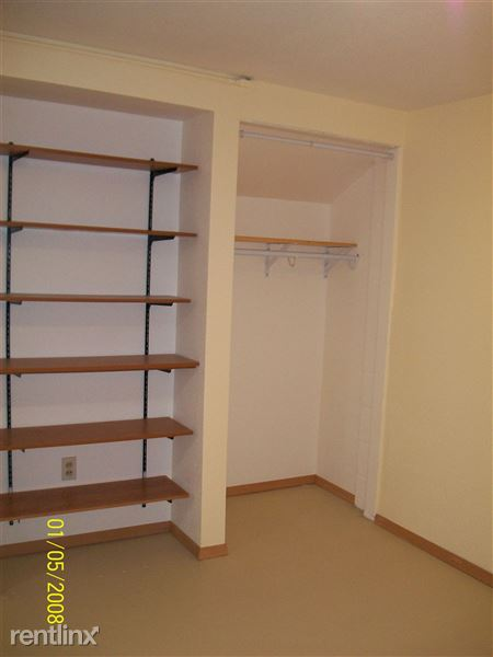 bdr closet and shelves in bsmt