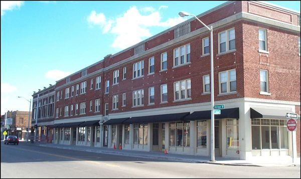 The Ferndale Apartments, above local businesses