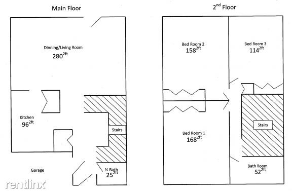 3 Bedroom Home Floorplan