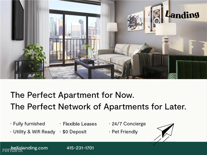 Landing Furnished Apartment Alexan Ross - 2 -
