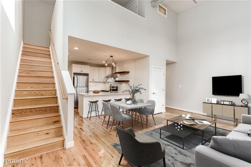 3801 Fleet St - 3 - Apt 1 living dining kitchen