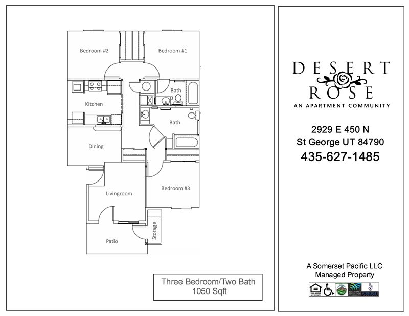 Desert Rose Apartments 2929 E 450 N St George Ut Low