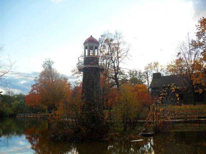 A November Evening in Palmer Park