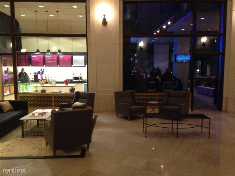 Detroit Flex-Lease/Furnished @ The David Whitney - 16 - 19-DWB - Grab-n-go and XYZ bar