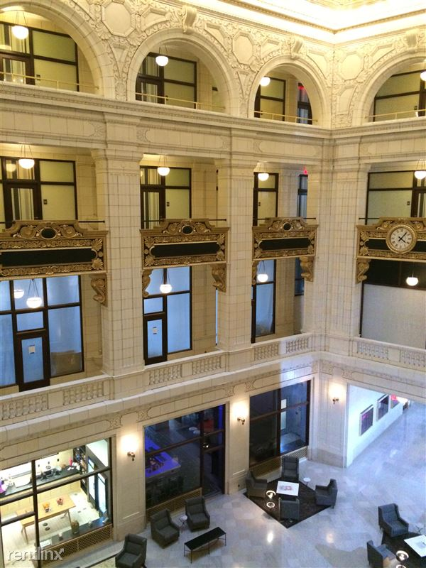 Detroit Flex-Lease/Furnished @ The David Whitney - 19 - 1.2 Lobby and balconies