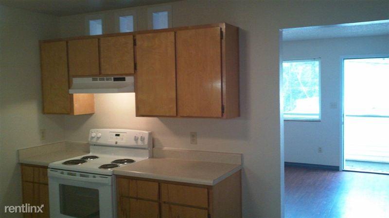 Lower unit kitchen wall