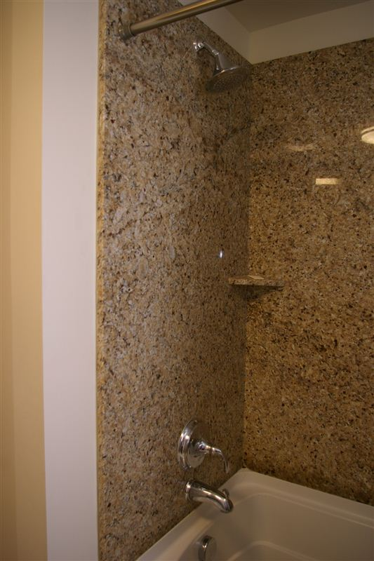 Granite Shower - all suites