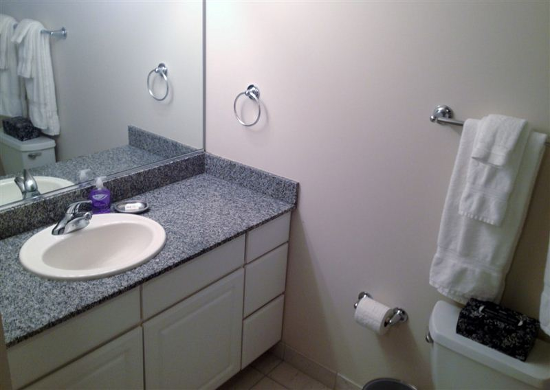 Granite Bath Counter
