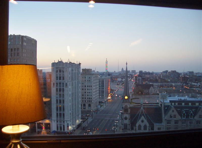 View from your desk: Woodward Ave - Fox Theater