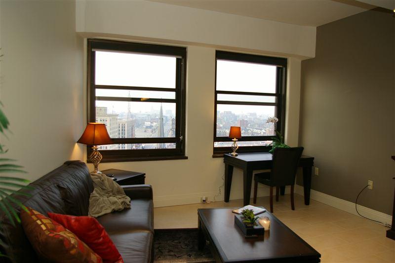 15th floor suite from bath door