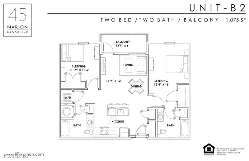 45 Marion St - 7 - 2 Bed w balcony