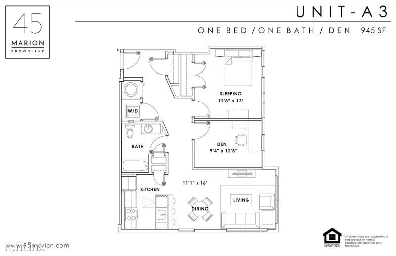 45 Marion St - 12 - 1 bed with den