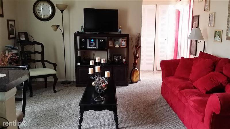 1br furnished  living room