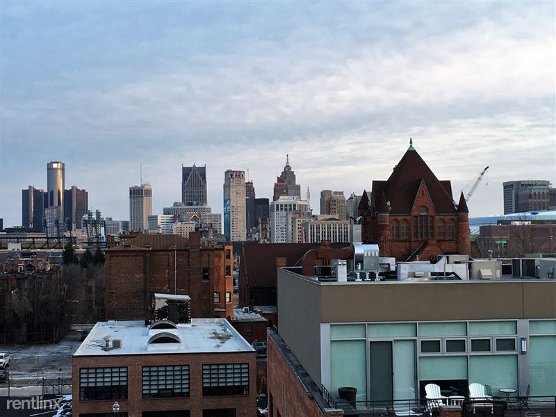 Detroit Flex-Lease/Furnished @ Scott at Brush Park - 6 - View from 530 Balcony