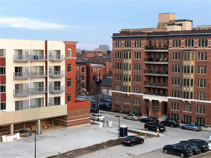 Detroit Flex-Lease/Furnished @ Scott at Brush Park - 9 - View from 530 balcony