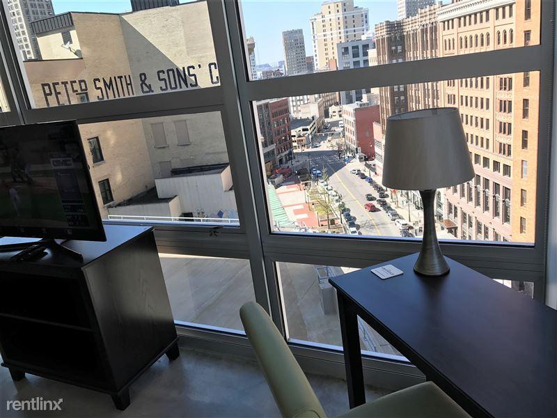 Detroit Flex-Lease/Furnished @ The Griswold - 12 - work desk view
